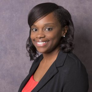 Tierra Bostic works at Charlson and Wilson Insurance Agency in Manhattan, KS.