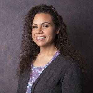A headshot of Sandra Wade